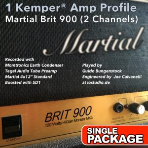 Kemper Amp Profiles-Brit 900-Single