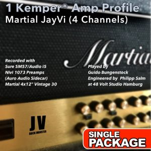 Kemper Amp Profiles-JayVi-Single