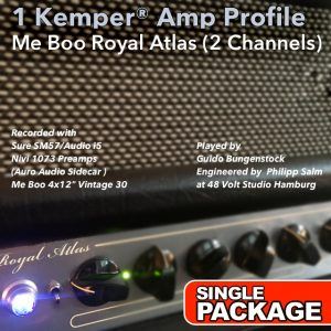 Kemper Amp Profiles-Royal Atlas-Single