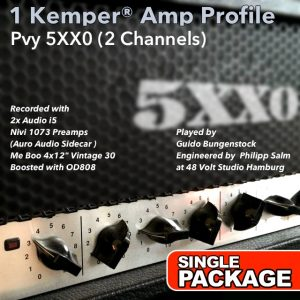 Kemper Amp Profile-5xx0-Single