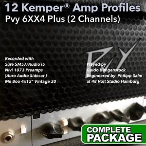 Kemper Amp Profiles-6xx4 Plus