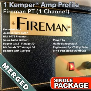 Kemper Amp Profiles-Fireman PT-Single-Merged