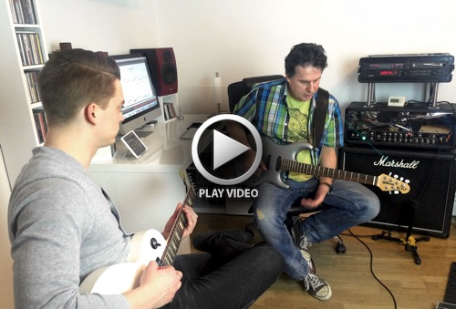 Guitar lesson trailer