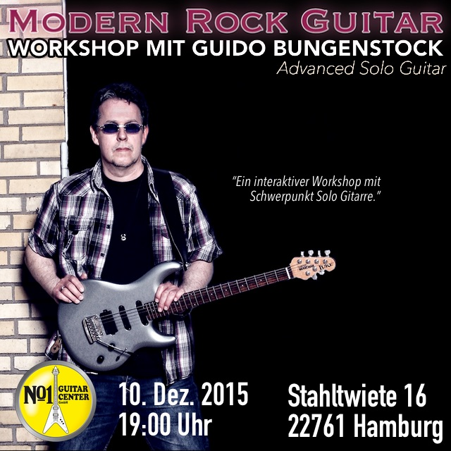 Modern Rock Guitar Workshop 2