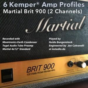 Kemper Amp Profiles-Brit 900