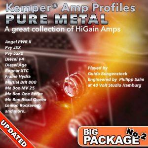 Kemper Amp Profiles-Big Package No.2