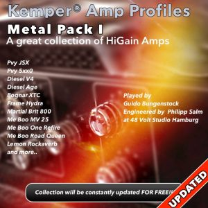 Kemper Amp Profiles-Metal Pack I