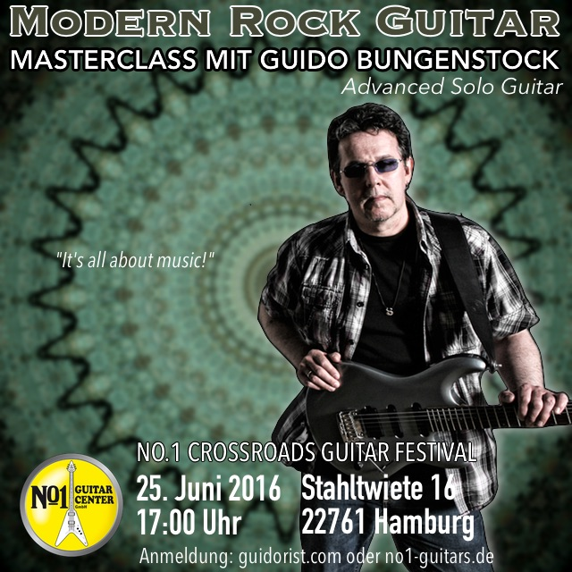 Modern Rock Guitar Workshop 4