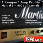 Kemper Amp Profiles-Brit 800-Single