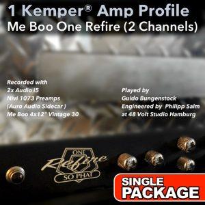 Kemper Amp Profiles-One Refire-Single