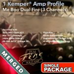 Kemper Amp Profiles-Dual Fire-Single-Merged