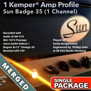 Kemper Amp Profiles-Sun Badge 35-Single-Merged