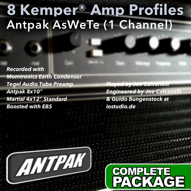 Kemper Amp Profiles-AsWeTe | Guitar lessons | Guido