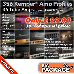 Kemper Amp Profiles-Big Package No.1