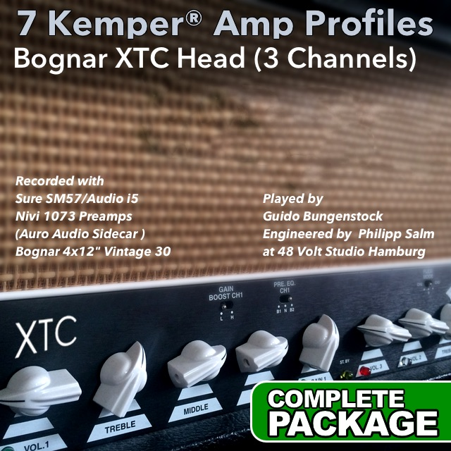 Kemper Amp Profiles-XTC | Guitar lessons | Guido Bungenstock