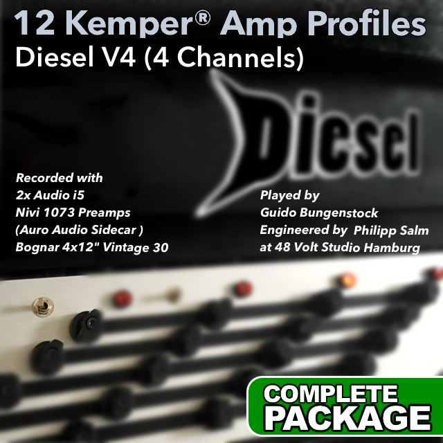 Kemper Amp Profiles-V4 | Guitar lessons | Guido Bungenstock