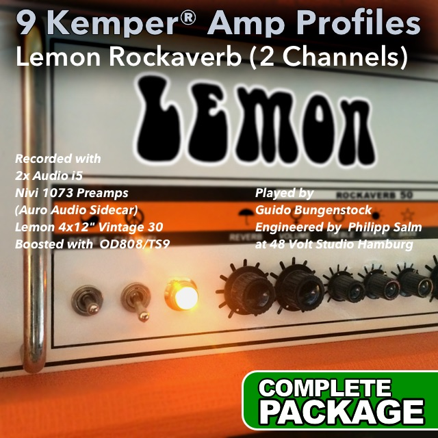 Kemper Amp Profiles-Rockaverb | Guitar lessons | Guido