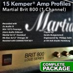 Kemper Amp Profiles-Brit 800