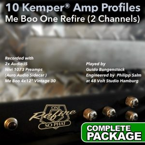 Kemper Amp Profiles-One Refire