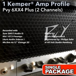 Kemper Amp Profiles-6xx4 Plus-Single