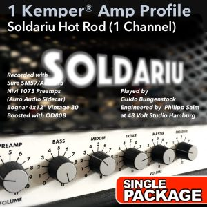 Kemper Amp Profile-Hot Rod-Single