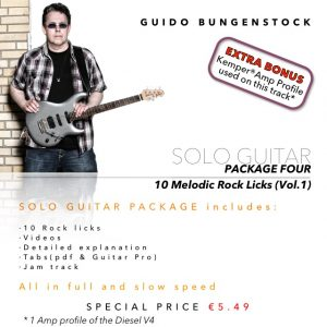 Solo Guitar - Package Four