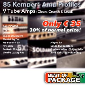 Kemper Amp Profiles-Best of Package No.1