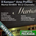 Kemper Amp Profiles-Brit800