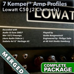 Kemper Amp Profiles-Lowatt C50-Merged