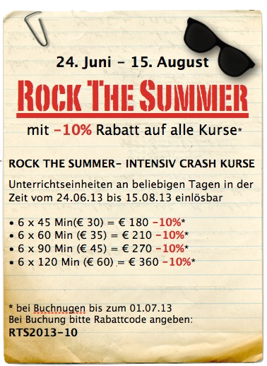 Rock The Summer
