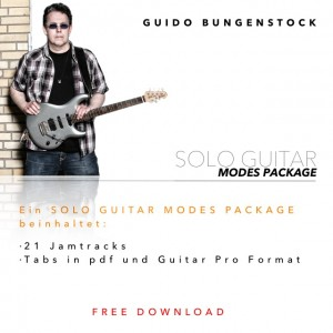 Solo Guitar - Modes Package