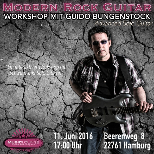 Modern Rock Guitar Workshop 3