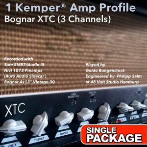 Kemper Amp Profiles-XTC-Single