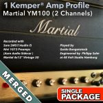 Kemper Amp Profiles-YM100-Single-Merged