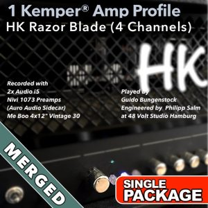 Kemper Amp Profiles-Razor Blade-Single-Merged