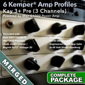 Kemper Amp Profiles-Kay 3+ Pre-Merged