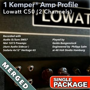 Kemper Amp Profiles-Lowatt C50-Single-Merged