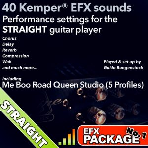 Kemper Amp EFX-Straight Package 1